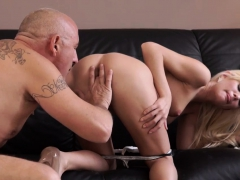My Big Step Daddy And Its Too Xxx Horny Platinum-blonde