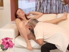 Tiny Teen Fucked By Huge Cock And Nasty Old Man First