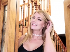 Busty Blonde Milf Housewife Fucked Her Young Neighbor