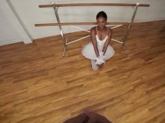 Vrbangers Sexy Ebony Gets Her Pussy Fucked Hard