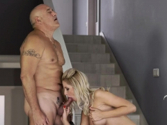 Old Man Fuck Young Girl First Time Finally At Home,