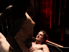 Suspended Bdsm Excited Young Tourists Felicity Feline And