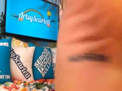 Big Boob Brunette In Wild Live Show