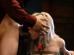Teen Loves To Swallow Big-breasted Blonde Cutie Cristi