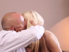 Daddy Creampie Horny Platinum-blonde Wants To Attempt