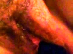Hairy Black Milf Toys Her Pussy Close Up