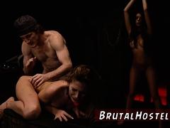 Bondage Fetish Two Youthful Sluts, Sydney Cole And Olivia