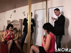 Crazy Mom Has Fire In Her Snatch And Rides Cock Really Hard