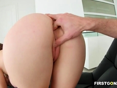 Busty Babe Gets Anal