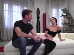 Rocco Siffredi Anals Busty Brunette While Shes Casting