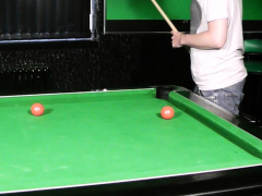 Wife Caught Him Fucking Chubby Fatty On The Pool Table