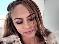 Petite Blonde Teen Zoe Clark Pov Deepthroat And Swallow