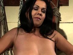 Bondage With Busty Slave