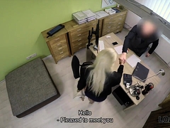 Loan4k. Absolutely Gorgeous Blonde Girl Has Wonderful Sex...