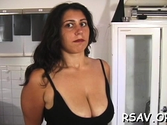 Breathtaking Honey Gets Spanked After Thorough Scrutiny