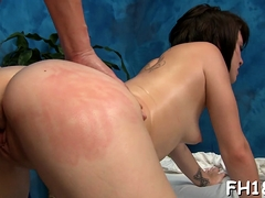 Shlong In Stunning Brunette Shelby Good's Vagina