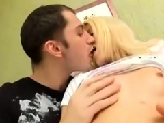 Slutty Teen Blondes Close Up Hardcore Fucking At Home