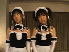 Boner Rams Playful Teen Oriental Airi's Cunt