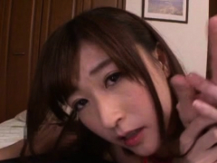 Delicious Mature Asian Beauty Enjoys That Yummy Prick