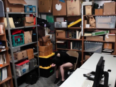 Cute Goth Teen Shoplifter Chick Gets Punish Fucked Hard