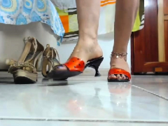 Sensuous Latin Lexi Bare Foot Sole Fetish