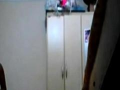 Spycam Mom After Shower