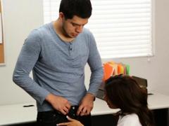 Ravishing Schoolgirl Seduces An Adult Male To Use His Weenie