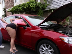 Stupefying Barely Legal Gal Does A Perfect Blowjob