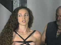 Pretty Cutie Is Playing With A Huge Fake Penis