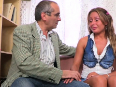 Gorgeous Teen Russian Sweetie Does A Perfect Blowjob