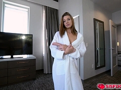 Jaycee Hopping On Stepbro Tony's Cock For A Sultry Ride