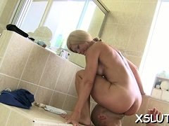 Excited Diva Gets Drilled Hardcore