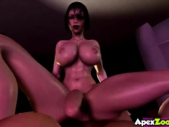 Sexy Big Tits Futanari Sluts Fucking And Riding Dick