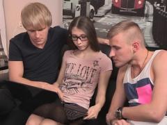 Naughty Teen Russian Minx Stefanie Gets Fingered