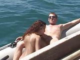 Amateur orgy on the boat