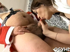 Staggering Young Russian Sweetie Adores Blowjobs A Lot