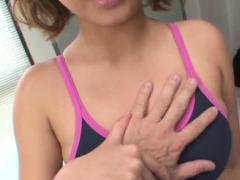 Heavenly Chika Kitano With Curvy Tits Bounces On Thick Dick
