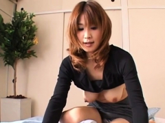 Aurousing Handjob And Oral-sex From Sexy Japanese Playgirl