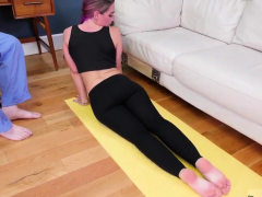 Three Teen Girls And Midwest Braces Ass-slave Yoga