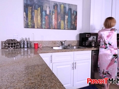 Pervert Son Is Giving This Horny Milf...