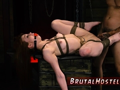 Rough Time And Ass Gets Destroyed Bondage Xxx Just As