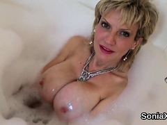 Cheating British Milf Lady Sonia Flashes Her Oversize60sjb