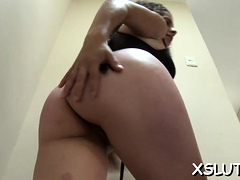 Sexy Latina Wench Smothering His Face With Her Thick A-hole