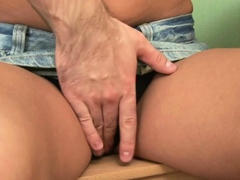 Staggering Teen Russian Angelina Getting Nailed