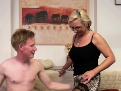 Monster Cock Step Son Teach To Fuck Anal By German Mom