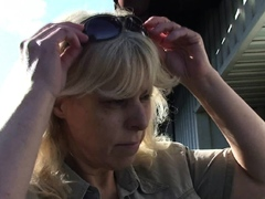 Blonde Mother In Law Taboo Sex Outdoors