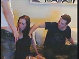 drunk teen gets tag teamed on webcam