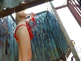 Hidden cam in beach cabin - 8