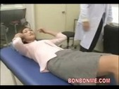 Pregnant milf creampie fucked by doctor