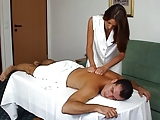 Brunette Masseuse
